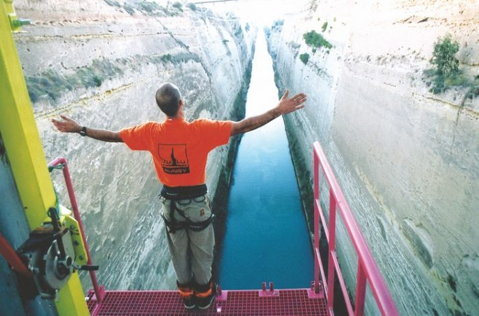 Bungee Jumping Corinth Canal