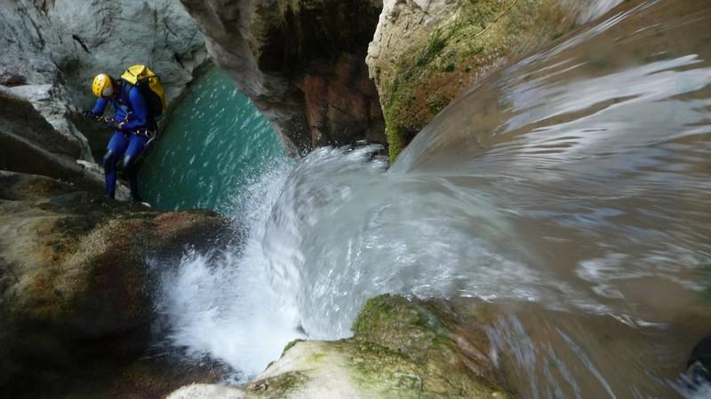 Canyoning Corinthia Greece