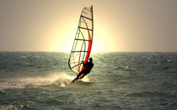 Windsurfing in Loutraki area