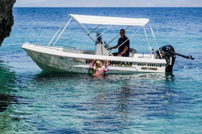 Rent a Boat in Loutraki