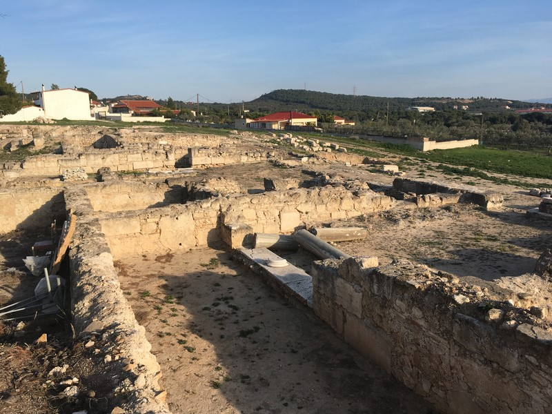 roman villa loutraki
